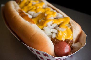 Detroit Coney dog
