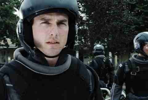 Minority Report Tom Cruise Steven Spielberg