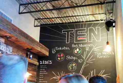 Ten Ramen Dallas