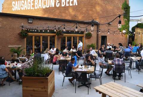 Best Outdoor Bars Patios Beer Gardens Rooftops In Chicago on modern door grill design