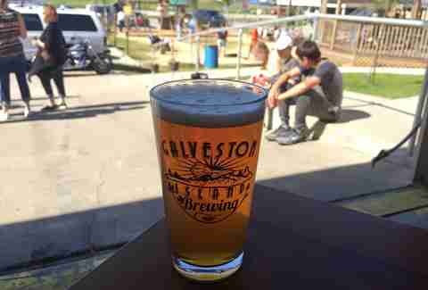 Galveston Island Brewing beer