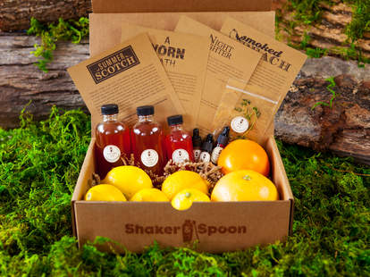 Shaker & Spoon cocktail subscription