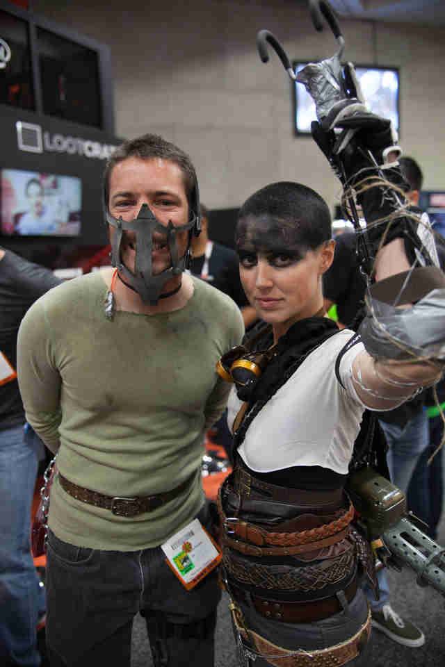Cosplay couple Mad Max Comic Con