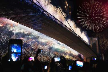 fireworks taking iphone photos
