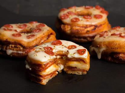 Pizza Donuts -- Thrillist Recipes