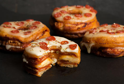 pizza donut recipe thrillist snack recipes