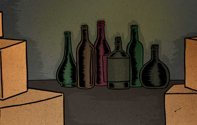 Message in Some Bottles: Divorce and the Family Liquor Cabinet