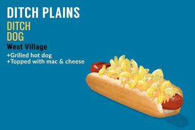 Ditch Dog hot dog illustration