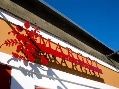 Margot Cafe sign