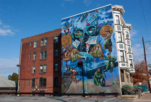 Street Art Best American Cities for Graffiti Mural Art Thrillist