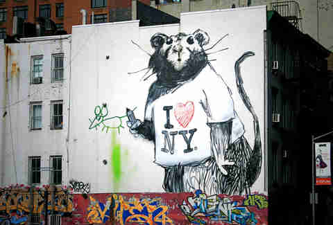 Banksy, New York