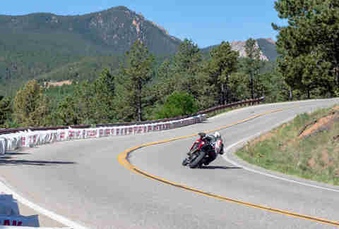 Motorcyclists at the PPIHC