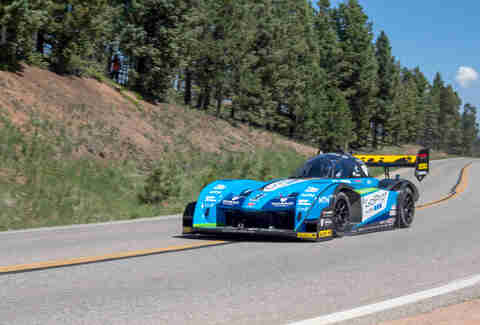Monster Tajima at the 2016 Pikes Peak Hill Climb