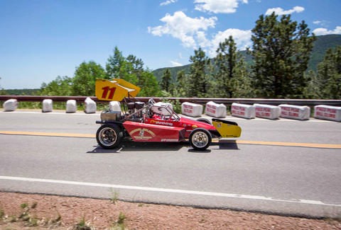 The Pikes Peak International Hill Climb