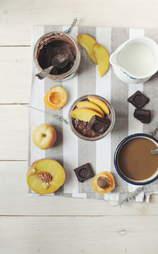 Brownie batter overnight oats
