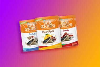 mango seaweed chips