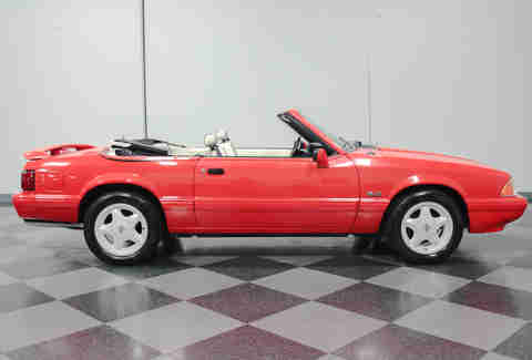 Limited Edition 1992 Mustang LX 5.0 Convertible