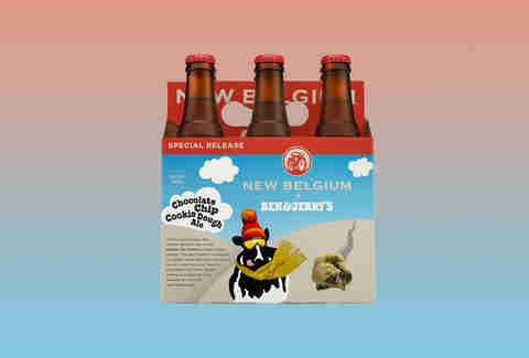 New Belgium and Ben & Jerry's Chocolate Chip Cookie Dough Ale