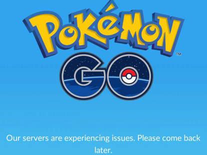 Pokemon Go Server Issues