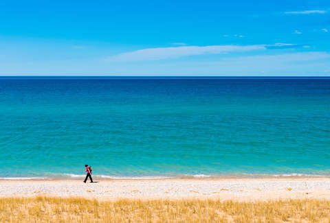 Sleeping Bear Dunes Beach