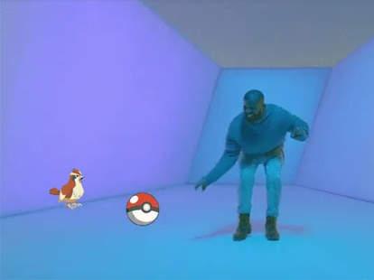 Drake Pokemon Go Gif