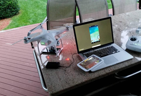 Pokemon Go Drone