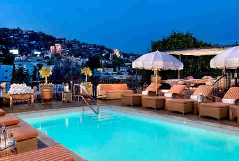 Butterfly Bar and Pool, Hotel Petit Ermitage