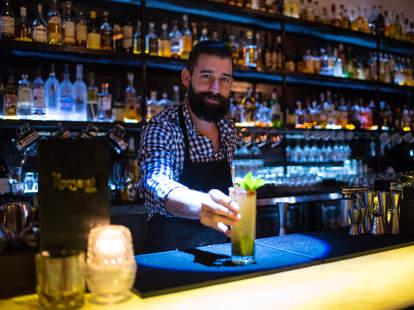 Alex Shoemaker Roosevelt Room Austin bartender