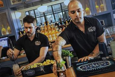 Deep Eddy Distillery Austin bartenders
