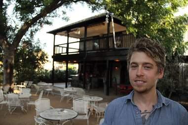 Brandt Kempin bartender Weather Up Austin