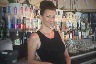 Ryan Baird bartender St. Genevieve Austin