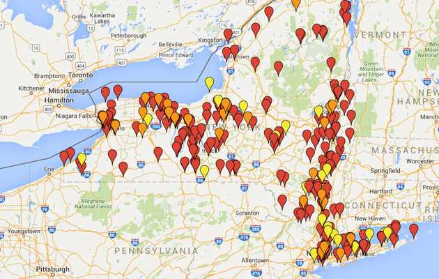 This Map Shows Every Single Brewery & Brewpub in New York State
