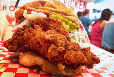 Best Fried Chicken Sandwiches In Los Angeles Thrillist