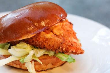 Mess Hall chicken sandwich