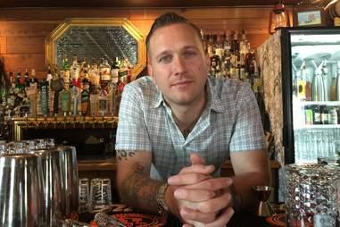 Jarred Craven bartender Craftsman Austin