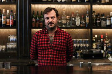 Justin Elliot bartender The Townsend Austin