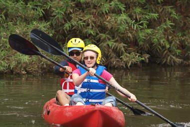 kayak la river