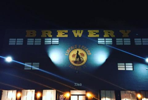 lincoln's bear brewing company exterior