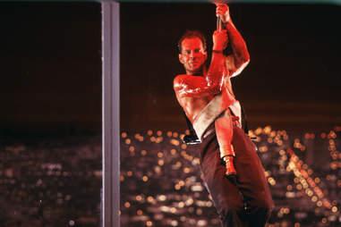 Die Hard Bruce Willis Glass
