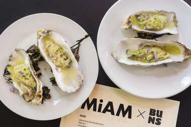 MiAM oysters
