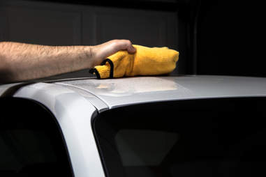 Washing your car without water