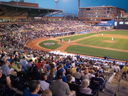 Durham Bulls Athletic Park minor league baseball