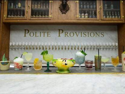 polite provisions cocktail selection