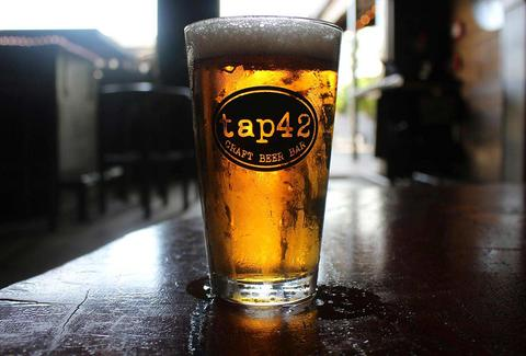 Craft beer at Tap 42 in Miami FL