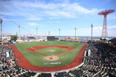 Brooklyn Cyclones MCU Park minor league baseball