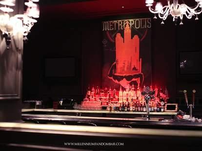 millenium fandom bar interior