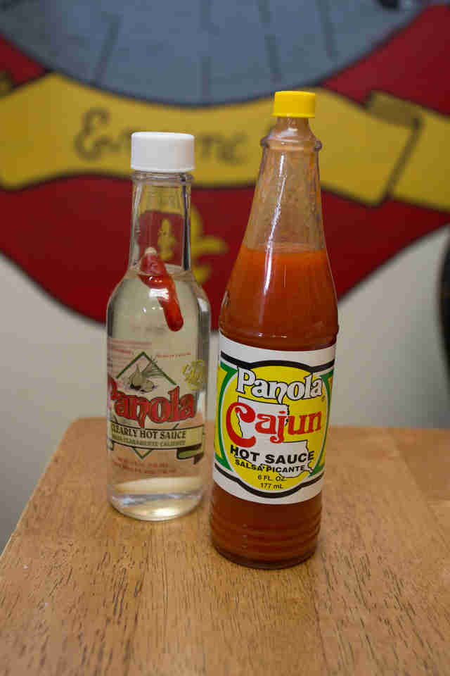 Panola hot sauce New Orleans