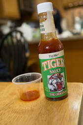 Tiger hot sauce new orleans