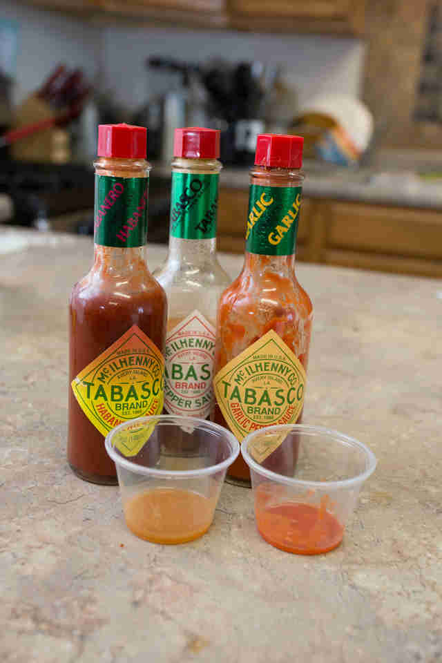 Tabasco hot sauce New Orleans
