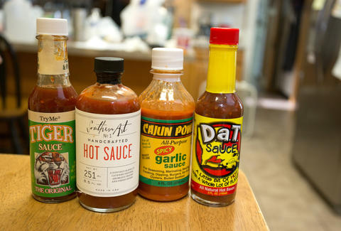 Louisiana hot sauce New Orleans